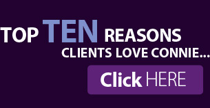 top ten reasons clients love connie