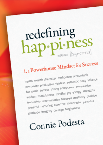 redefining happiness cover