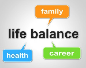 Life Balance Means Equal Value And Balanced