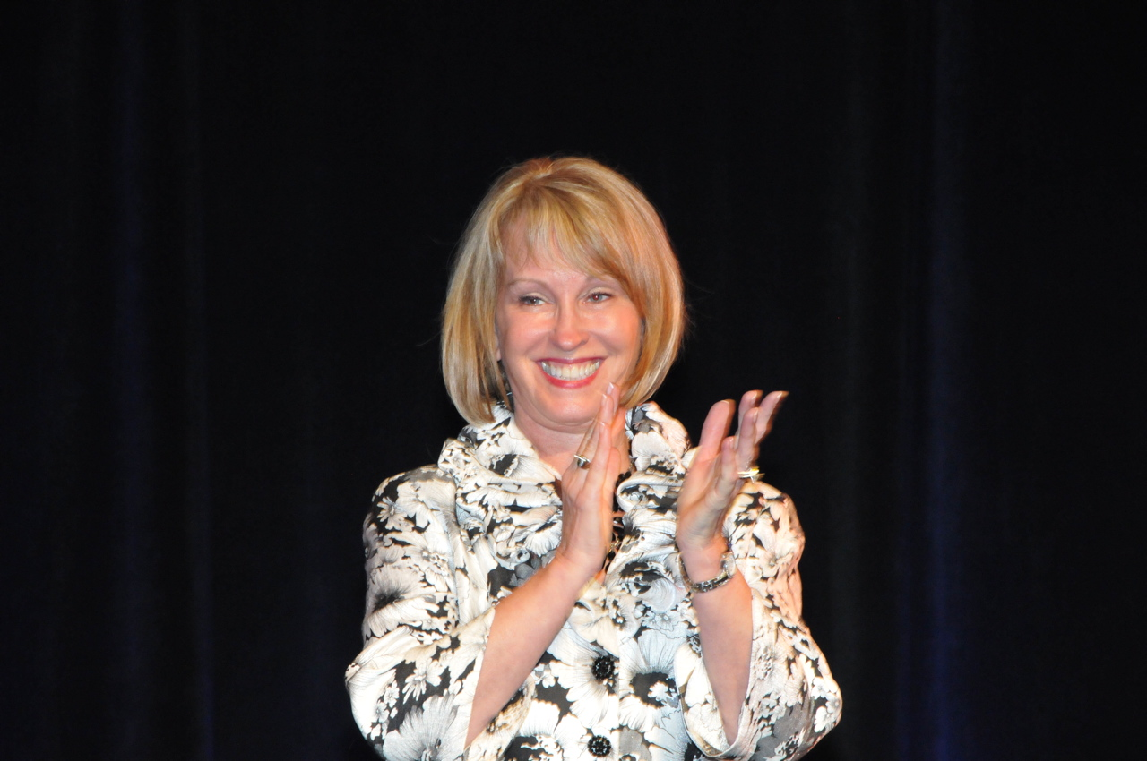 Motivational Speaker Connie Podesta on Resolutions