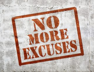 Salespeople:  QUIT Making Excuses
