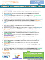 Ten hot topics for Real Estate
